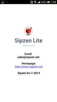 SipZen Lite apk screenshot