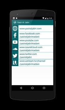 Yasir Al Jabri Madani apk screenshot