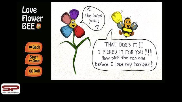 The Love Flower BEE apk screenshot