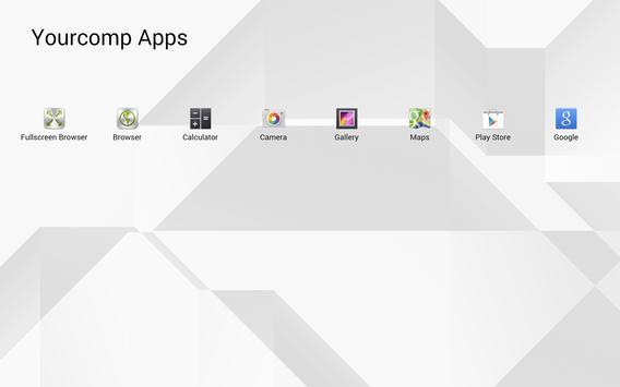 SiteKiosk Lite Kiosk Browser apk screenshot