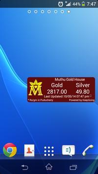 MGH GOLD RATE apk screenshot