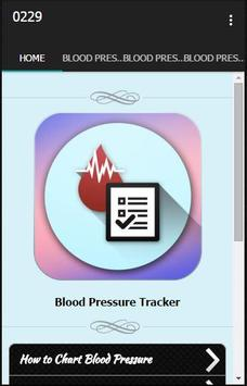 Blood Pressure Tracker poster
