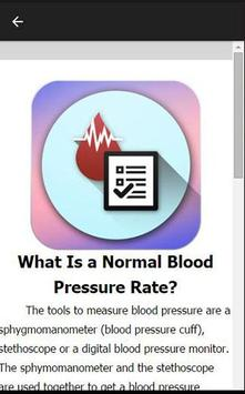 Blood Pressure Tracker apk screenshot