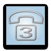 SDS LAST 3 CALLS WIDGET LITE icon