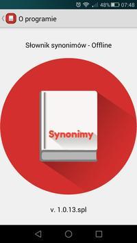 Synonimy Offline poster