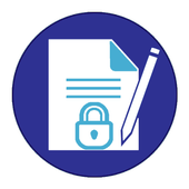 Safe your notes icon