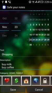 Safe your notes apk screenshot