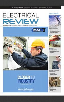 Electrical Review poster