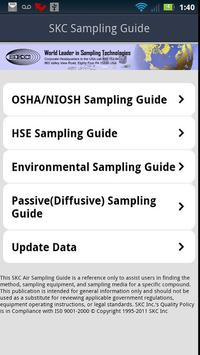 SKC Sampling Guide poster