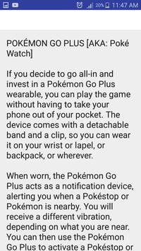 Guide for Pokemon GO Skep apk screenshot