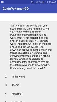 Guide for Pokemon GO Skep poster