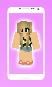 Pretty minecraft girl skins apk screenshot