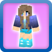 skins girls for minecraft pe icon