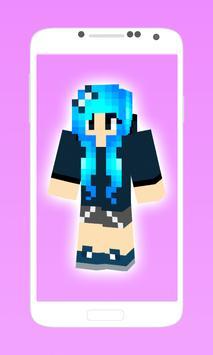 skins girls for minecraft pe apk screenshot