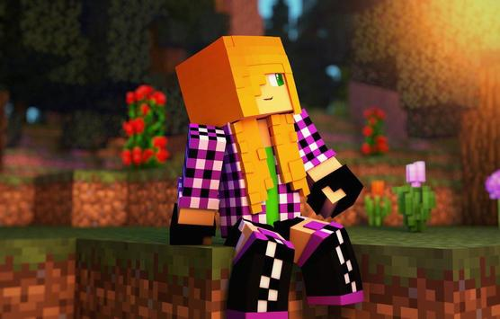 Skins for Minecraft PE Free poster