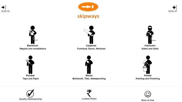 skipways - Home Repairs poster