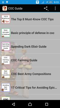 Guide For Clash Of Clans (COC) apk screenshot