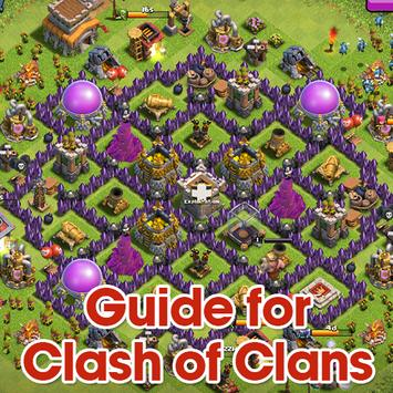 Guide For Clash Of Clans (COC) poster