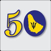 Barbados in 50 icon