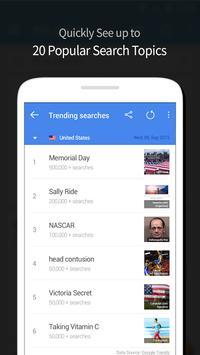 Trending Searches Card apk screenshot