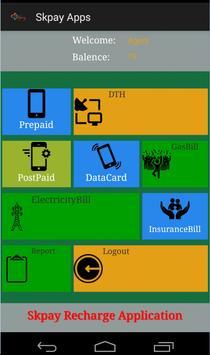Skpay Recharge Application apk screenshot