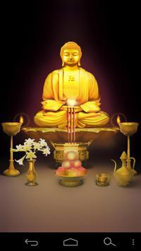 Buddhism Buddha Desk Free poster