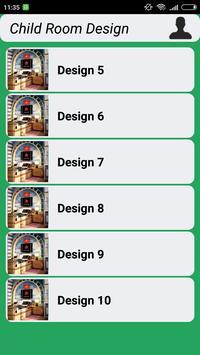 Child Room Design apk screenshot