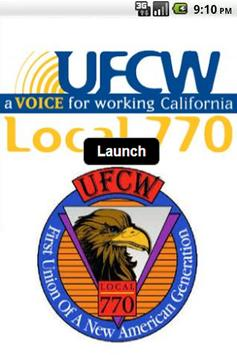 UFCW Local 770 poster