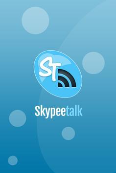 Skypee Talk poster