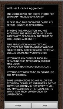 Quote Status for Whatsapp apk screenshot