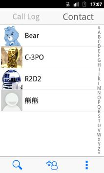 BearContact:Unlimited Call Log apk screenshot