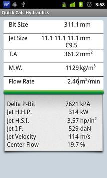 Quick Calc Hydraulics apk screenshot