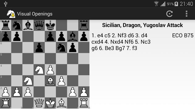 Visual Chess Openings apk screenshot