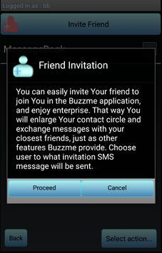 Buzzme apk screenshot