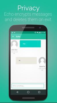 Echo (Private Chat) apk screenshot