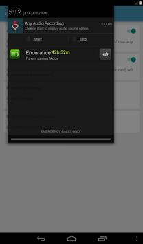 Any Audio Recorder apk screenshot