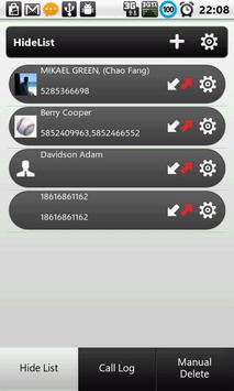 Call History & Log - Hide Pro poster
