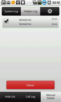 Call History & Log - Hide Pro apk screenshot