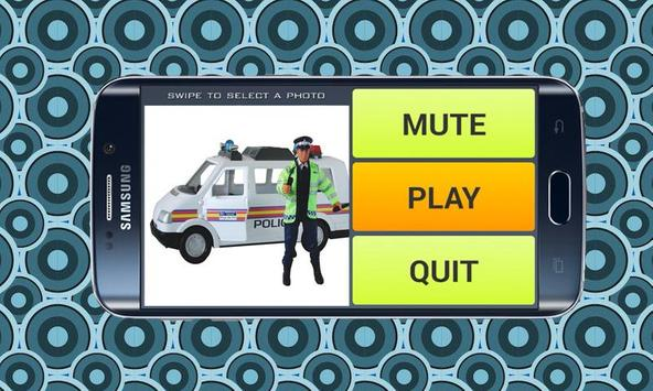 Police Van Games Puzzle apk screenshot