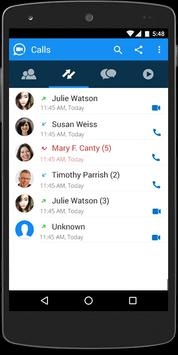 SliQ - Free voice & video call apk screenshot