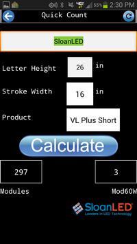 SloanLED Quick Count apk screenshot