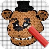 How to draw Freddy - Easy icon