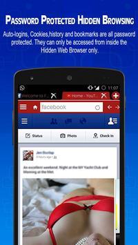 Web Browser - Hidden Secure apk screenshot