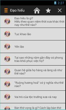 Phong Tục Việt Nam apk screenshot