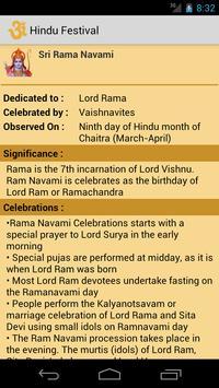 Hindu Festivals apk screenshot