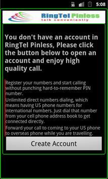 RingTel Pinless™ poster