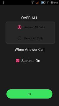 Smart Air Call Accept/Reject apk screenshot