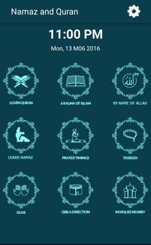 Learn Quran and Namaz English poster