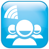 WiFi Chat & File share Groups icon