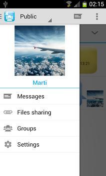 WiFi Chat & File share Groups apk screenshot